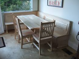 72 x 32 bordeaux dining table gustavus chairs and custom corner bench in natural hard maple