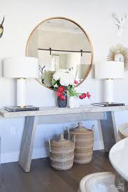 Top 5 Tips for Making Your Home Feel Cozy and Inviting. Entryway TablesRustic  Console TablesRustic Entry ...