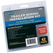 trailer wiring trailer wiring kit 42 pcs