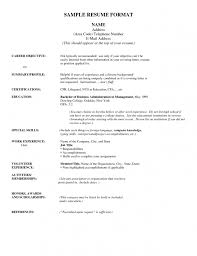 Inspiring Resume Address Format 53 In Professional Resume Examples with Resume  Address Format