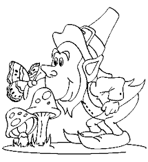 Small Picture Leprechaun Coloring Pages Coloring Kids
