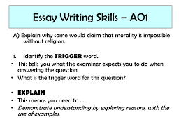 lesson key skills essay writing essay
