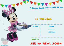 Mickey Mouse Invitations Template Inspiration Train Party