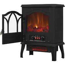 chimneyfree electric infrared 5 heater stove quartz 200 btu black metal 108 top reviews