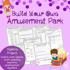 this extensive algebra porject will challenge kids to think through a fun and engaging business idea