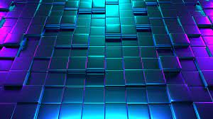 4K Wallpaper of 3D Colorful Cubes