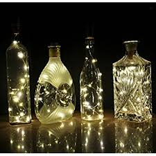 Decorative Wine Bottles With Lights Amazon COSOON Set of 100 Wine Bottle Cork Lights Copper String 7