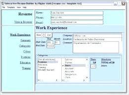 Resume Builder App Free Free Resume Builder Word Free Resume Builder