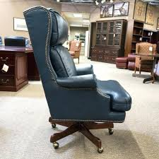 leather executive office chair used young leather executive office within navy desk chair plan
