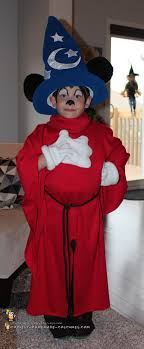 i wasn t surprised my son wanted a sorcerer mickey mouse costume as his costume after a trip to magic kingdom he was obsessed with sorcerer