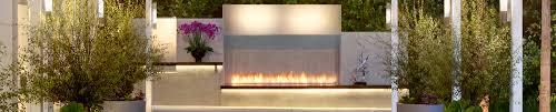 linear burner system outdoor