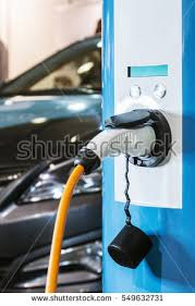 Electric Vehicle Charging Stock Images Royalty Free Images