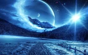 Blue Space Desktop Wallpapers - Top ...