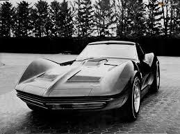 of Corvette Mako Shark II Concept Car 1965
