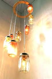 diy pipe chandelier black