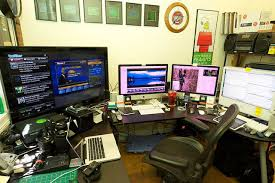 home office technology. best home office workstation setups with so much time spent in front a computer your becomes big part of life technology e