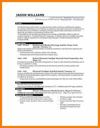 9 Resumes For Experienced Professionals Activo Holidays