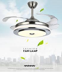 led ceiling fan light chandelier fan