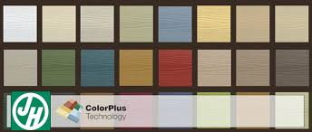Jameshardie Colorplus Technology Hardiplank Siding Colors