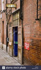 The Apollo Theatre stage door Archer street Soho London UK Stock ...