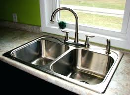 replace sink faucet design image of kitchen sinks bronze types in replacing a prepare undermount installing