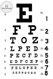 Free Snellen Eye Chart A3 Right Printable Eye Charts