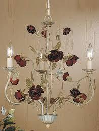 laura ashley english rose mini chandelier