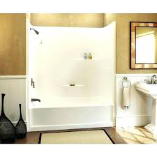 one piece tub and shower surround home depot one piece shower tub chic 1 piece tub surround direct to stud bathroom glamorous 2 piece tub shower enclosure