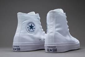 converse 2 white. mens shoes - converse chuck taylor all star ii core white 2