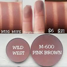 eyeshadows angela tanner on insram makeup geek 39 wild west 39 6 vs cocoa bear