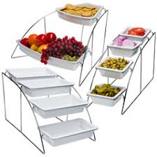Catering Display Stands Catering Display Stands Buffet Display Stands for Restaurant and 2