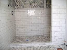 subway tile bathroom design