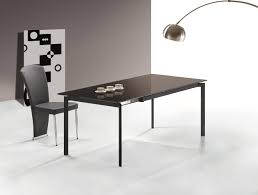 Modern Glass Kitchen Tables Glass Dining Room Table With Extension Glass Dining Room Tables