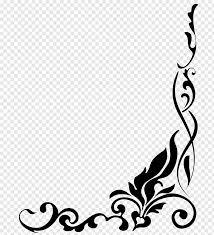 Border Designs Images Pictures Black Frame Illustration Drawing Border Designs S Free Png