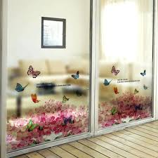 patio door decals sliding glass stickers images doors design ideas