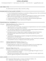 Career Objective Resume Sample – Resume Ideas Pro