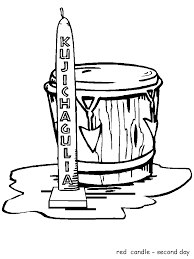 Small Picture Kwanzaa 2 Coloring Pages Coloring Book
