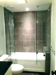 one piece tub shower combo acrylic install awesome fiberglass units bathrooms