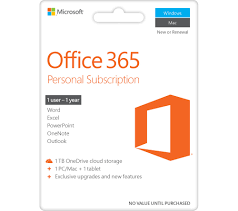 Microsoft Office 365 Personal 1 Year For 1 User Download Deals