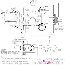 hammond transformers 6v6 push pull tube amplifier circuit diagram hammond transformers 6v6 push pull tube amplifier circuit diagram