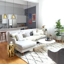 small apartment furniture layout. Apartment With Furniture Modern Small Open Kitchen And Living Room Also One Layout
