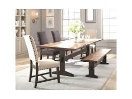 Compromise Rustic Kitchen Table Scott Living Burnham Dining Set With