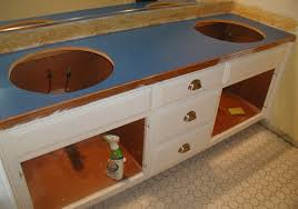 the existing countertop