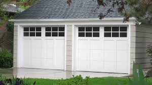 garage doors with windows. Image Of Overhead Roll-up Garage Doors With Windows