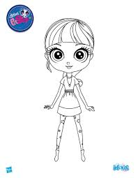 Small Picture Blythe from littlest pet shop coloring pages Hellokidscom