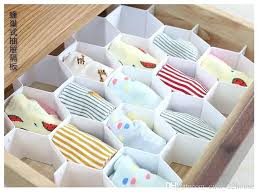 drawer organizers plastic partition bee style underwear socks bras ties belts scarves divider cabinet sock and