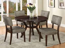 modern dining set with 4 chairs grey