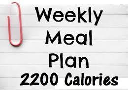 Best 2200 Calorie Diet Plan Ezhb