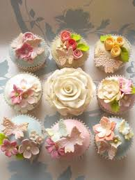 Butterflies And Flowers Cupcakes Party Ideas Cupcakes Cupcake