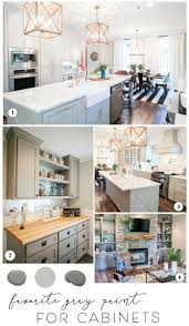 sharing the best paint for cabinets and joanna s favorite gray kitchen cabinet paint colors for farmhouse